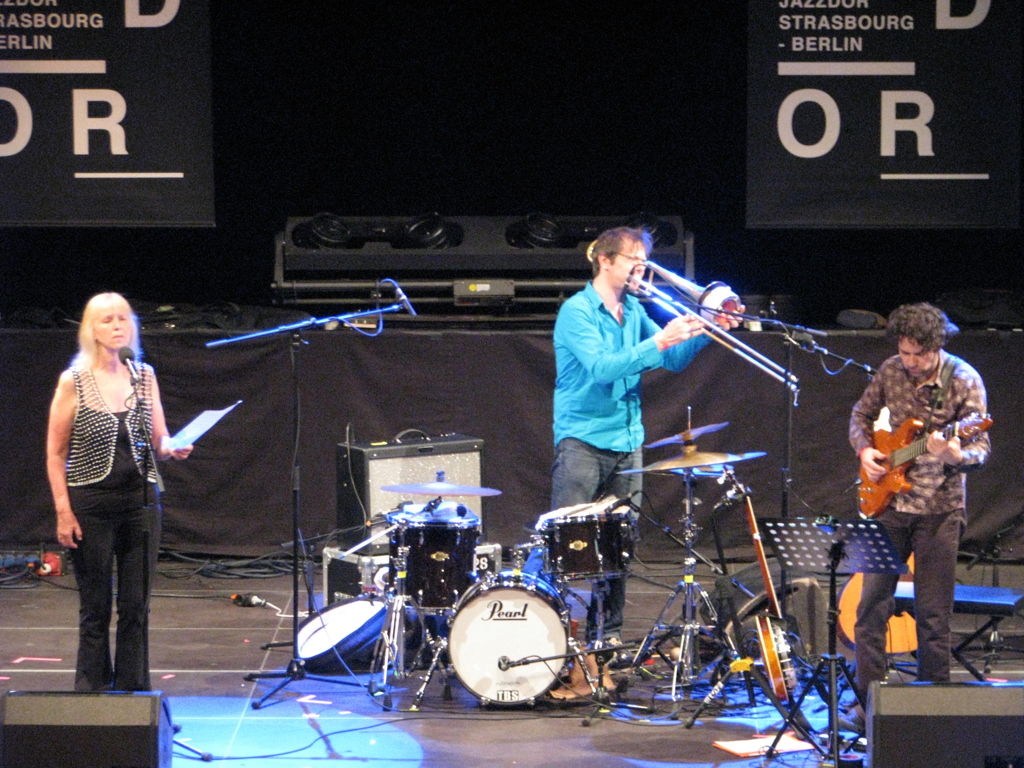 Maggie nicols denis charolles david chevallier jazzdor berlin 2013