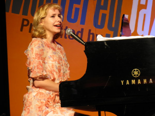 Nellie McKay, at the 2010 Monterey Jazz Festival