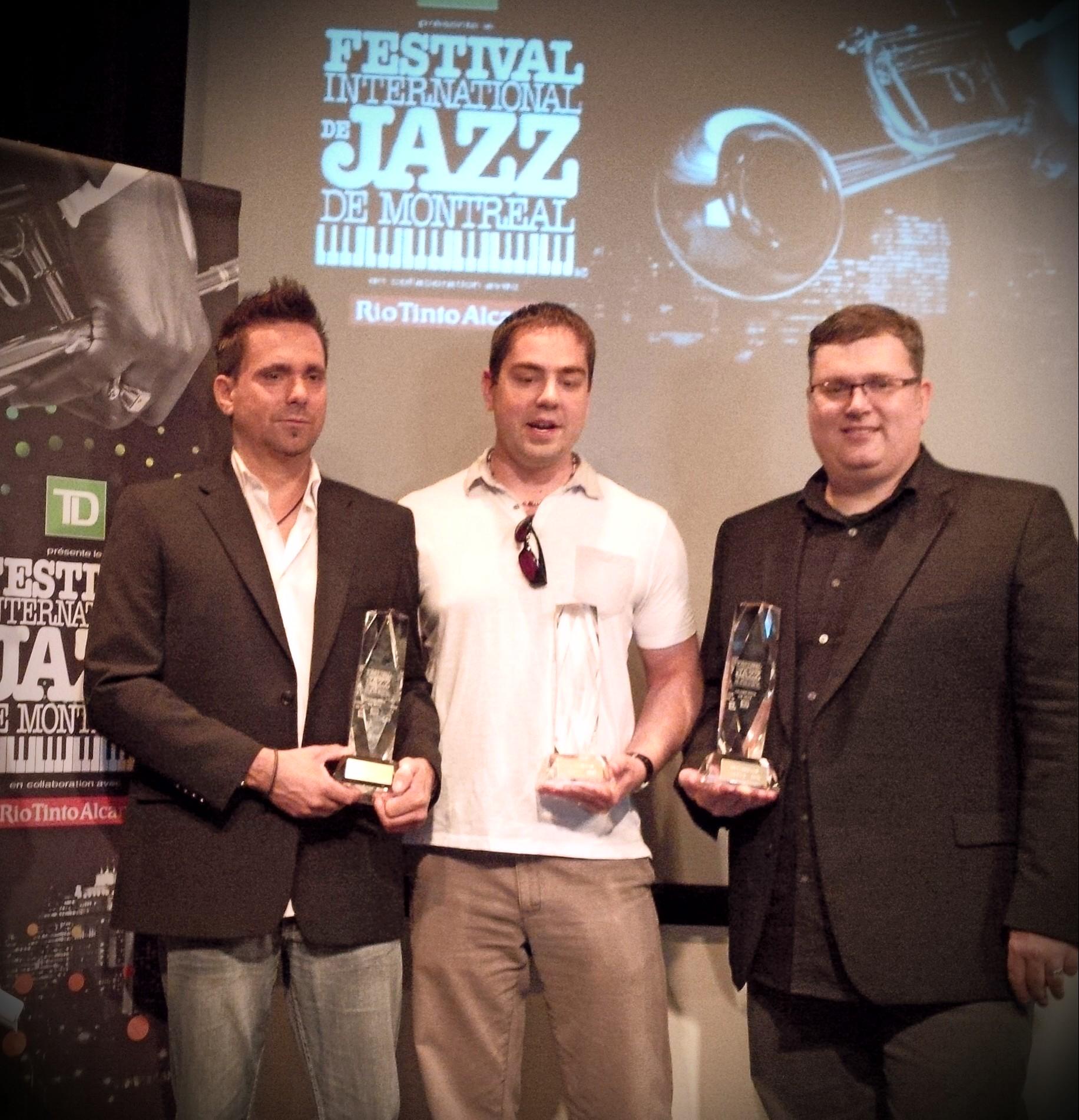 Hutchinson Andrew Trio - 34th Montreal International Jazz Festival Grand Prix Winner