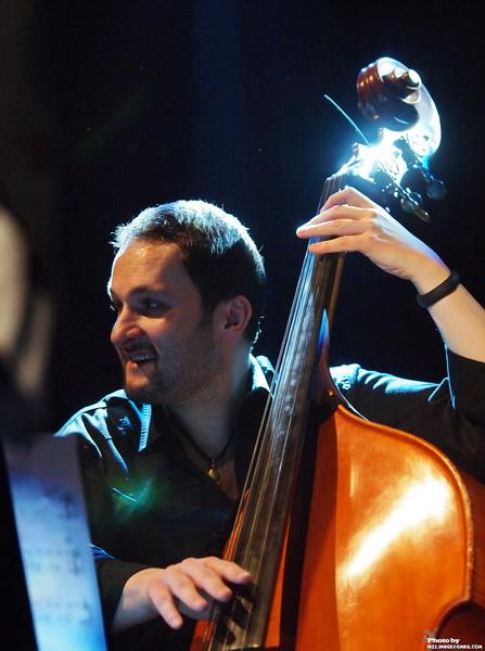 Robert Kubiszyn, Performing at Jazz Festival Zadymka Jazzowa, Bielsko-Biala, Poland. 2013
