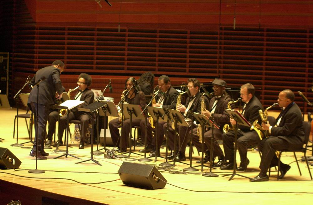 Odean Pope's Saxophone Choir @ The Kimmel Center 05 Phila. Pa.