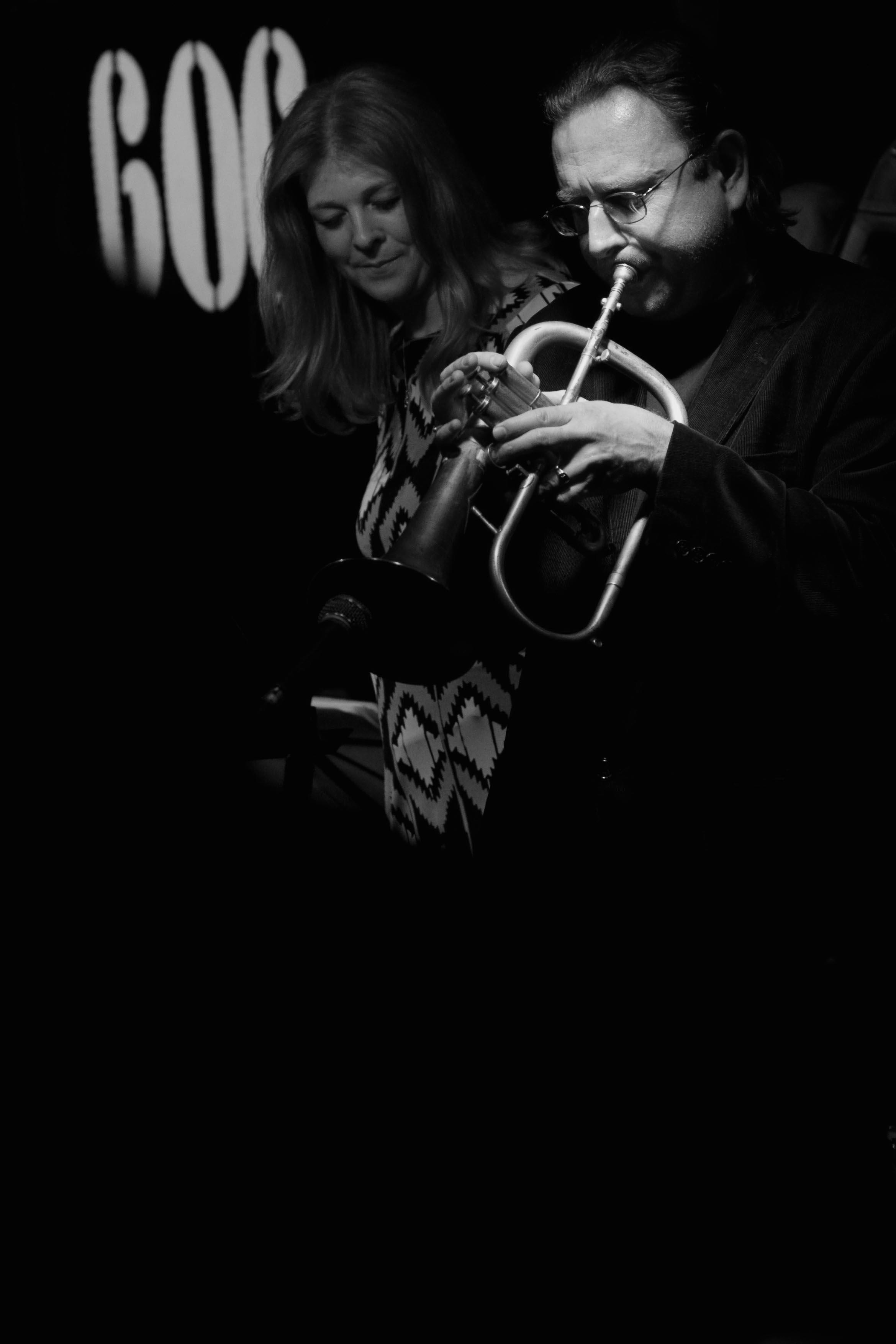 Martin Shaw and Jacqui Hicks