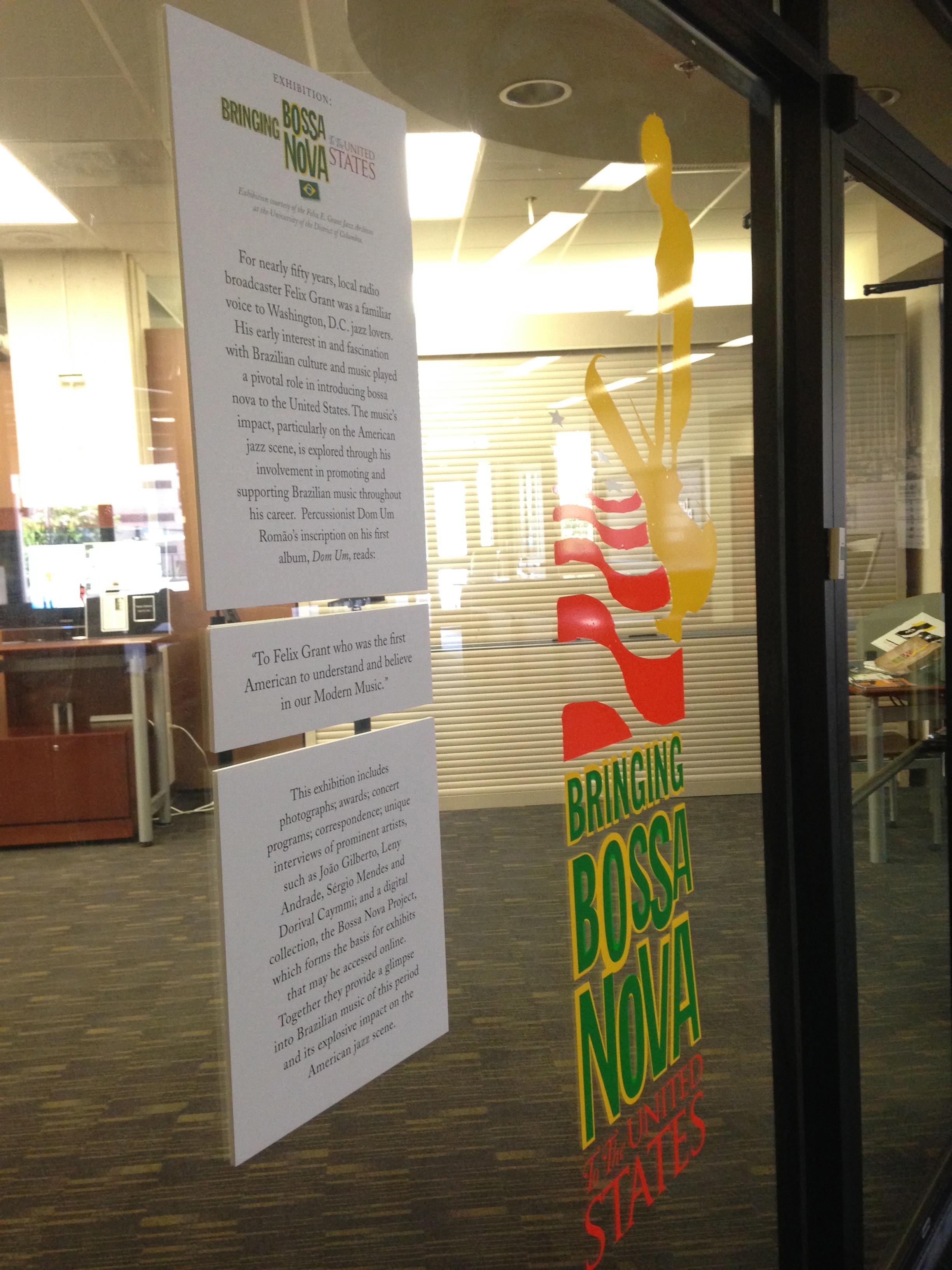 Exhibit: Bringing Bossa Nova to the United States
