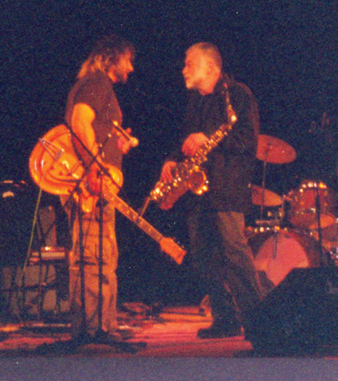 Alexei pliousnine and peter brotzmann