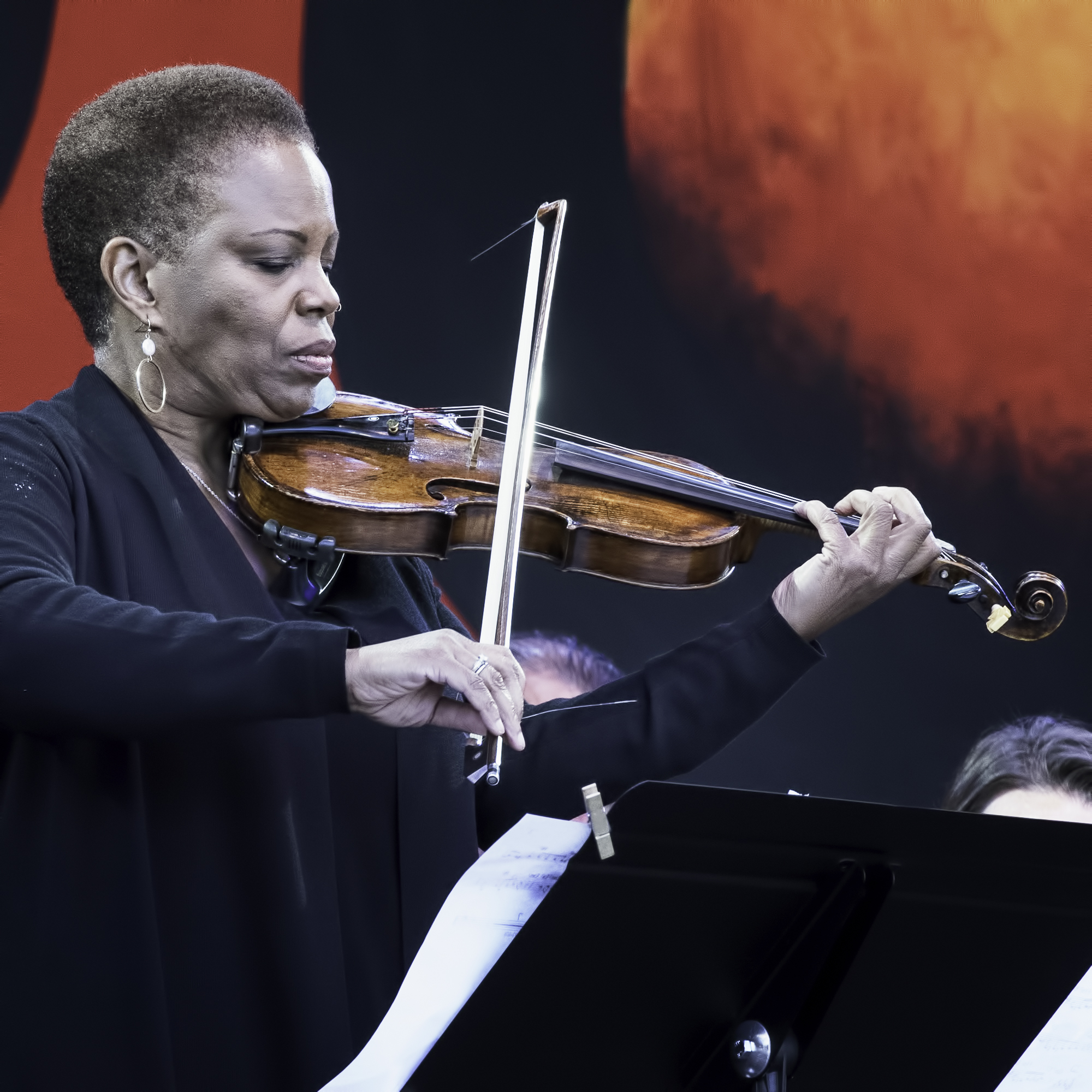 Regina Carter with John Beasley and the MONK'estra at the Monterey jazz Festival