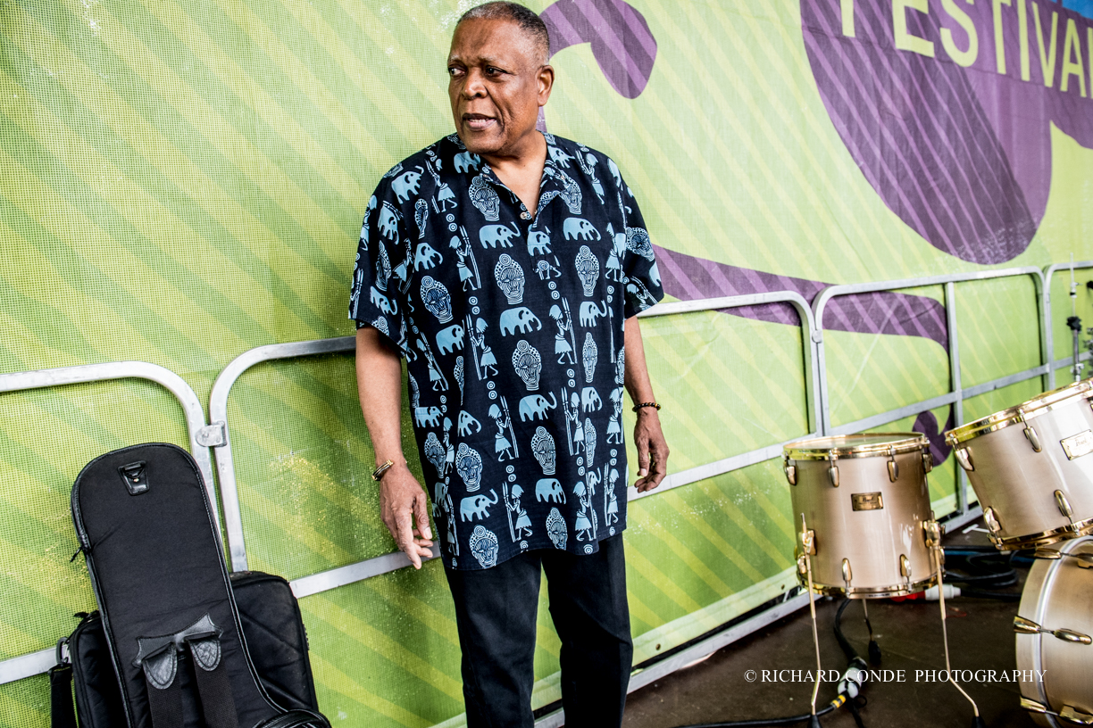 Billy Hart at the 2017 Montclair Jazz Festival