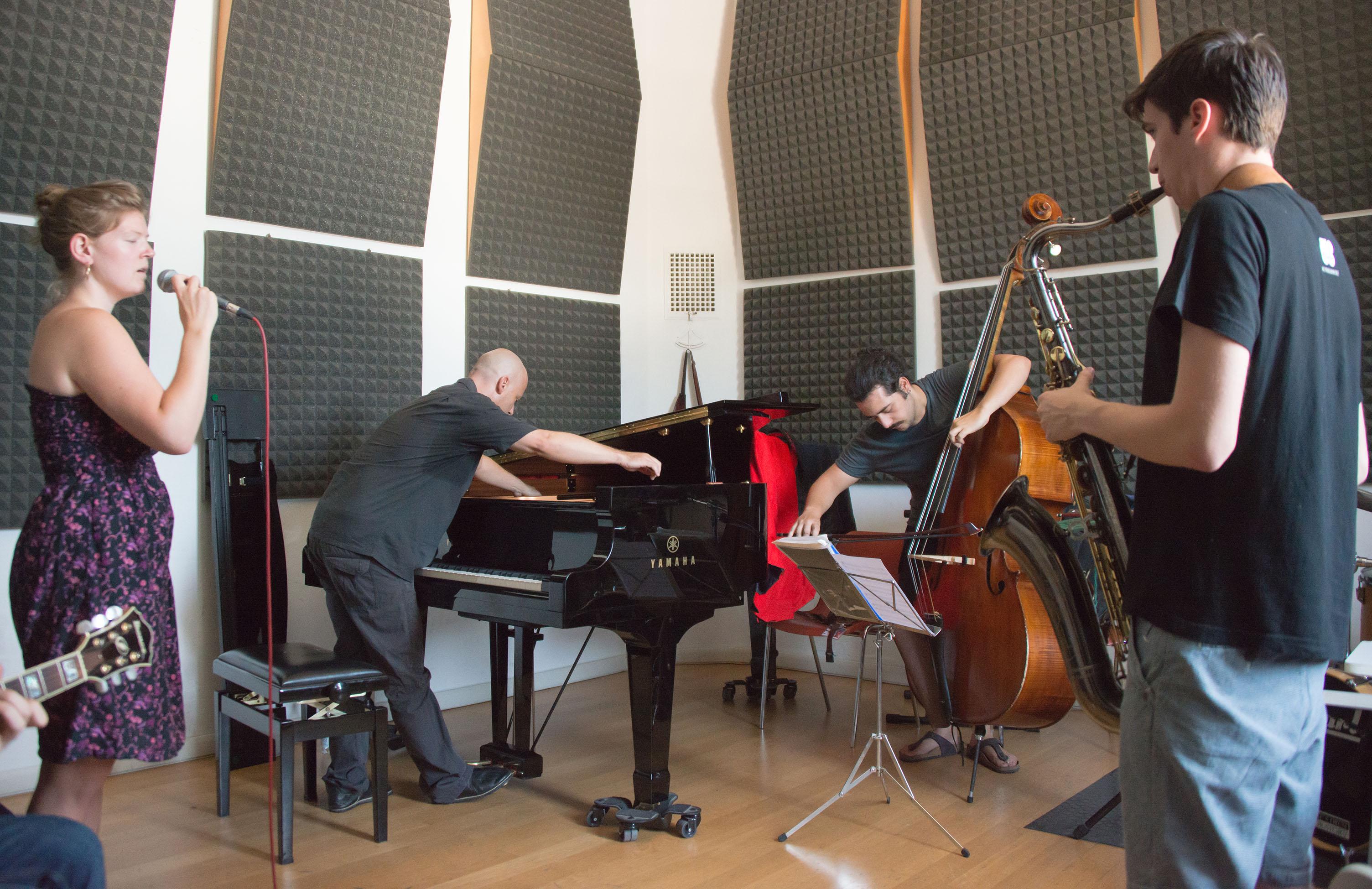 Stefano battaglia combo class, 2013 siena jazz academy summer wo