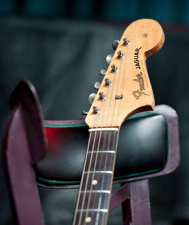 Marc Ribot's Jaguar Guitar