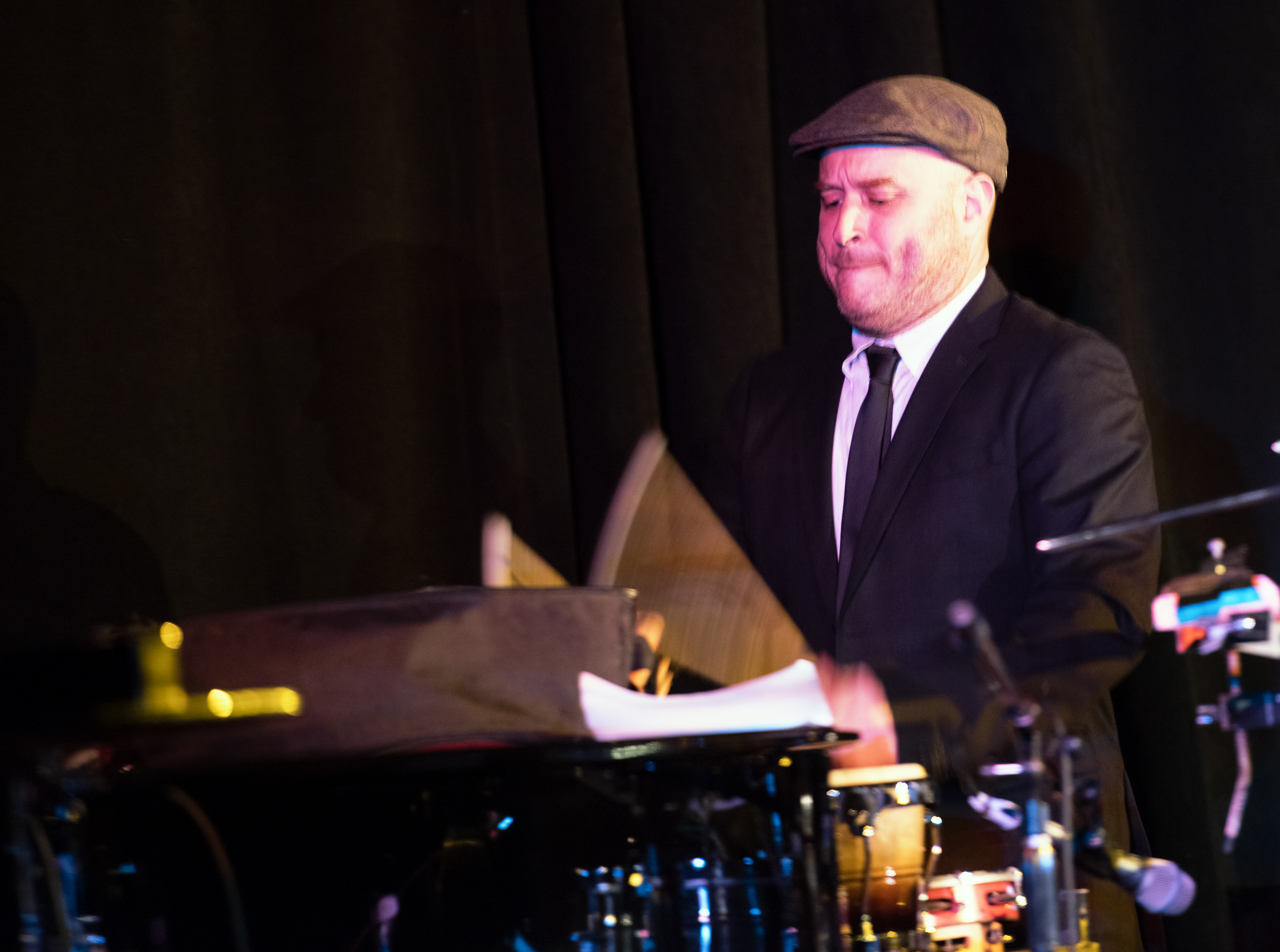 Ben Perowsky with Strange and Beautiful: the Music of John Lurie and the Lounge Lizards at the Nyc Winter Jazzfest 2015