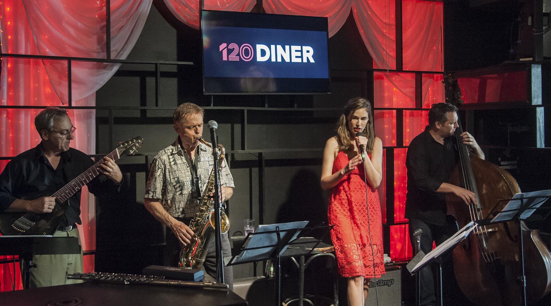 Dan Ionescu - John MacMurchy - Jessica LaLonde - Ross MacIntyre - 120 Diner - Toronto