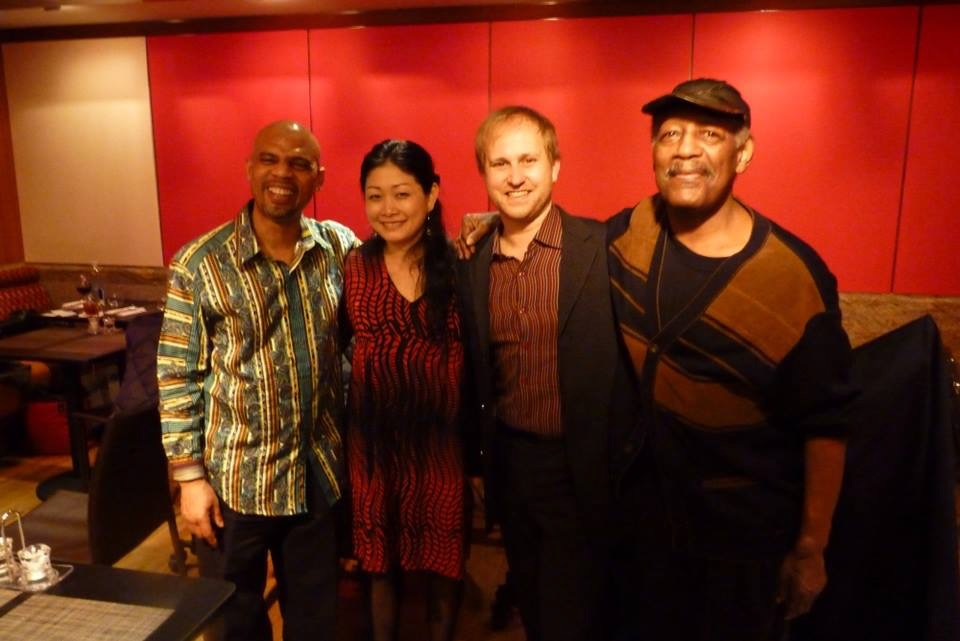 Kyoko Oyobe Quartet at Jazz at Kitano 2014