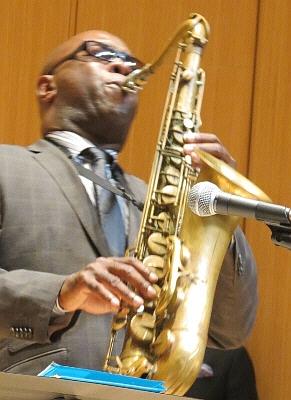 Tim Warfield Jr. with Terrell Stafford Quintet, Michigan State University, October 30, 2012