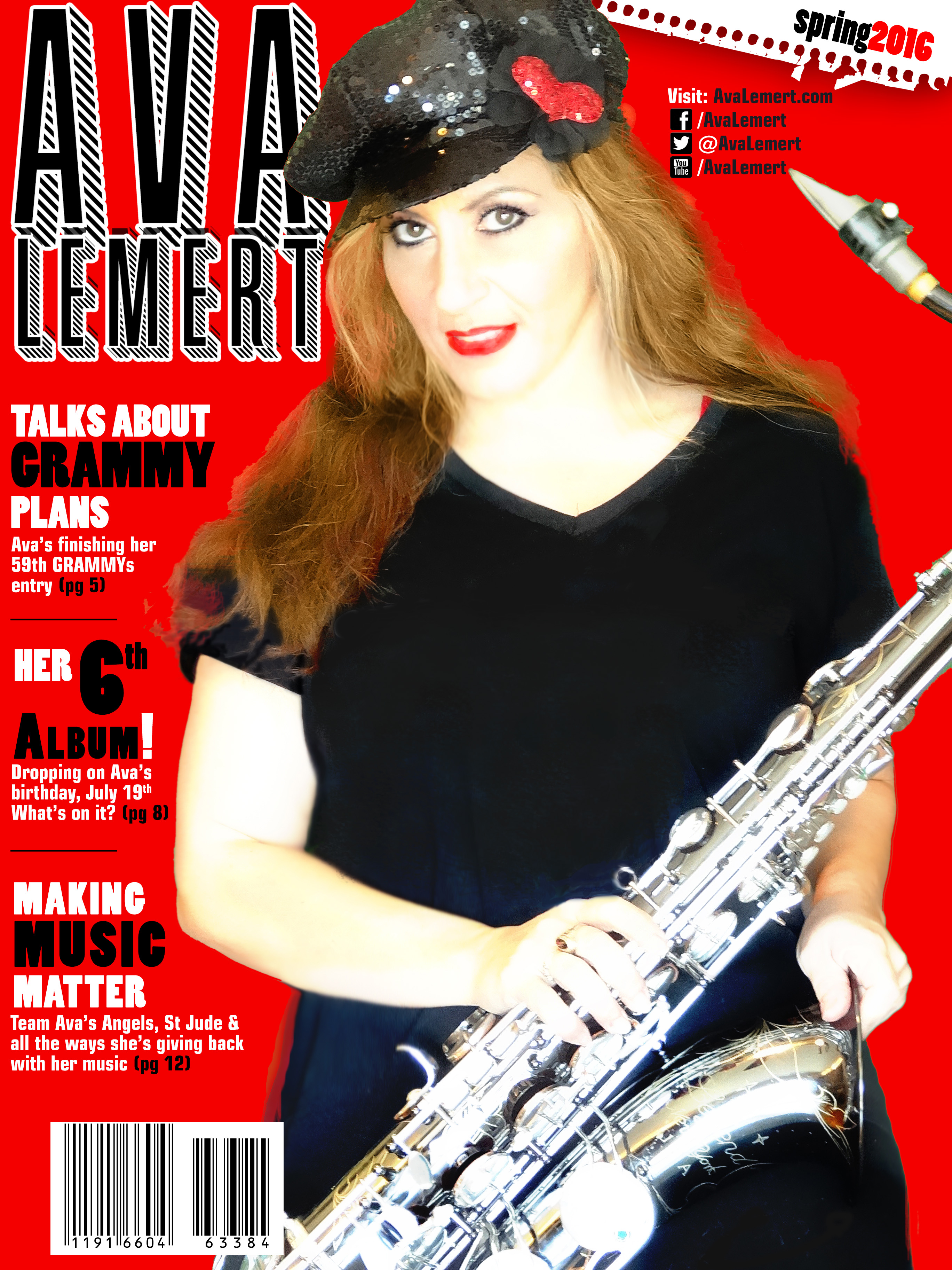 Ava Lemert the Singing Saxstress™