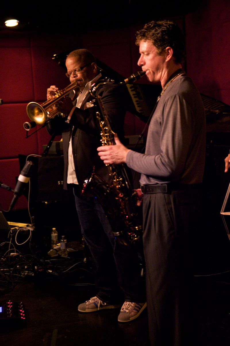 Terence Blanchard and Brice Winston at the Jazz Standard, NYC, 6/21/12