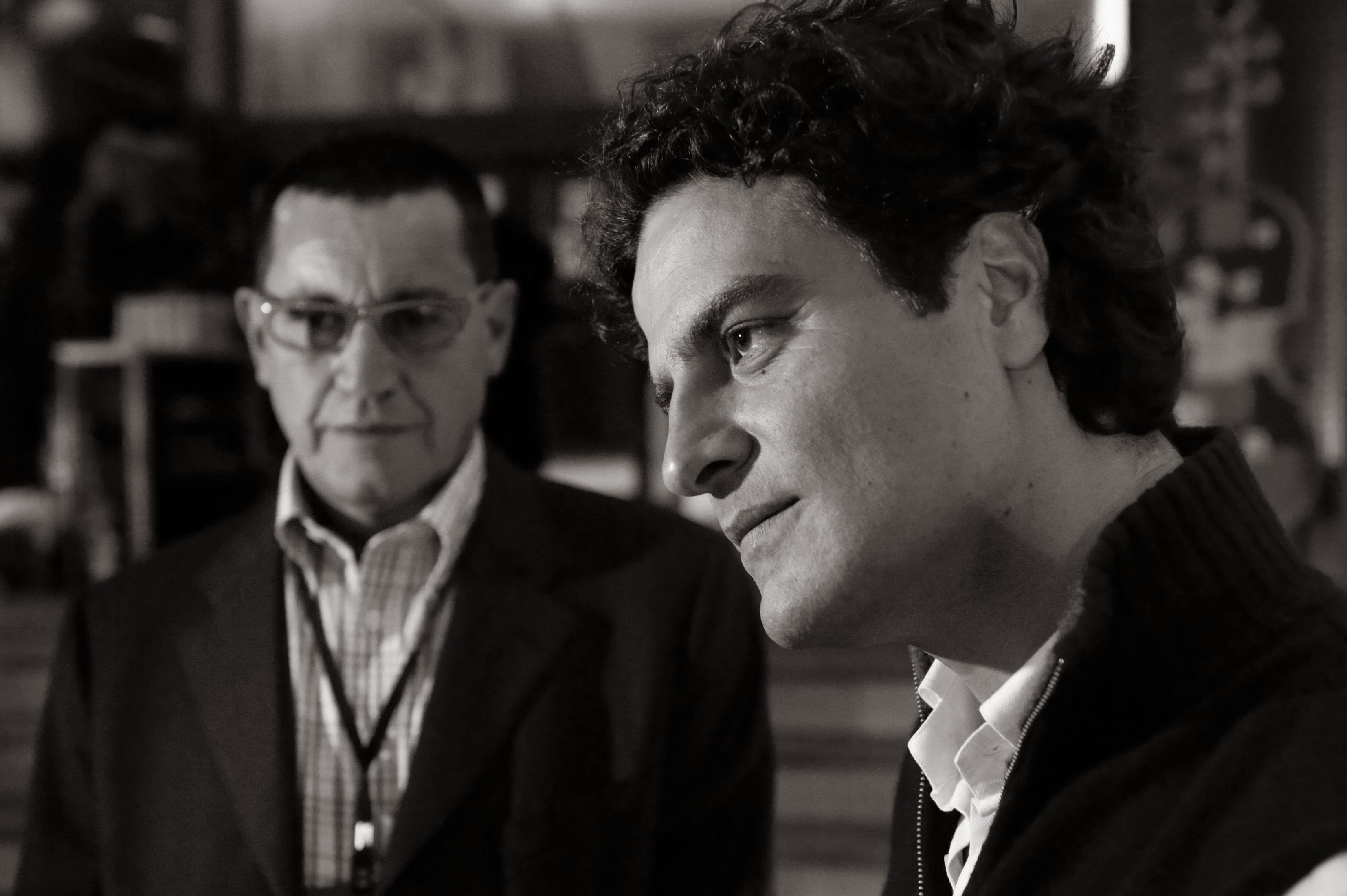 Enrico Blumer and Luca Aquino