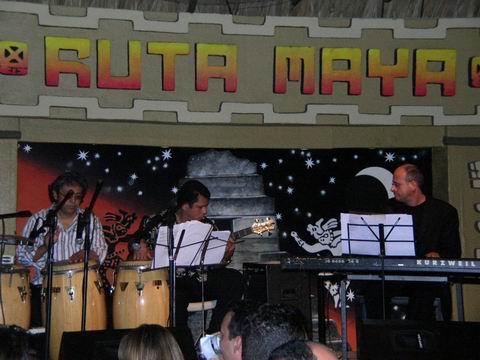 Roberto Magris at the Ruta Maya in Managua, Nicaragua