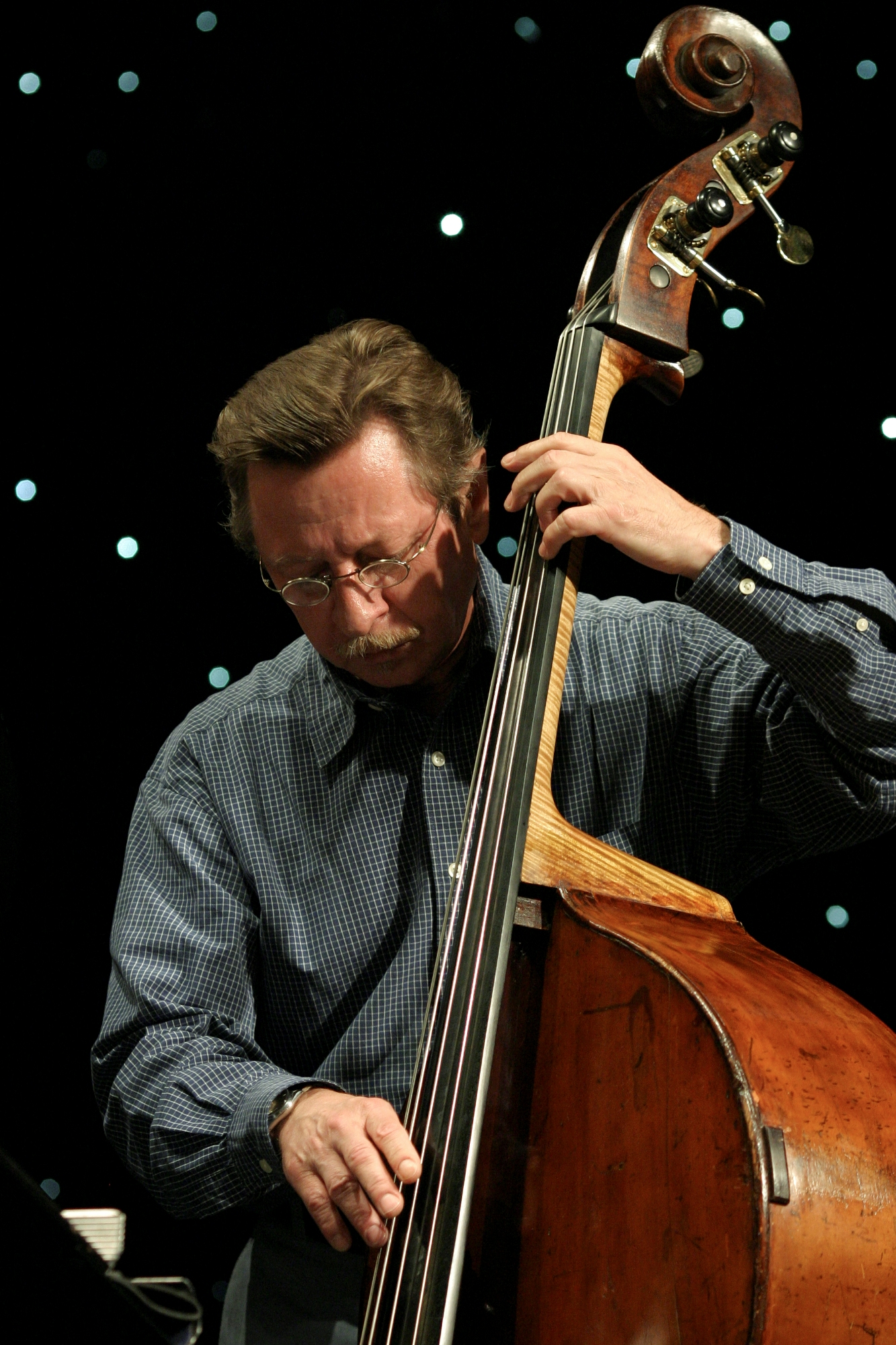 George Mraz (Bass) Ondenmark Copenhagen Jazz Festival 2005,