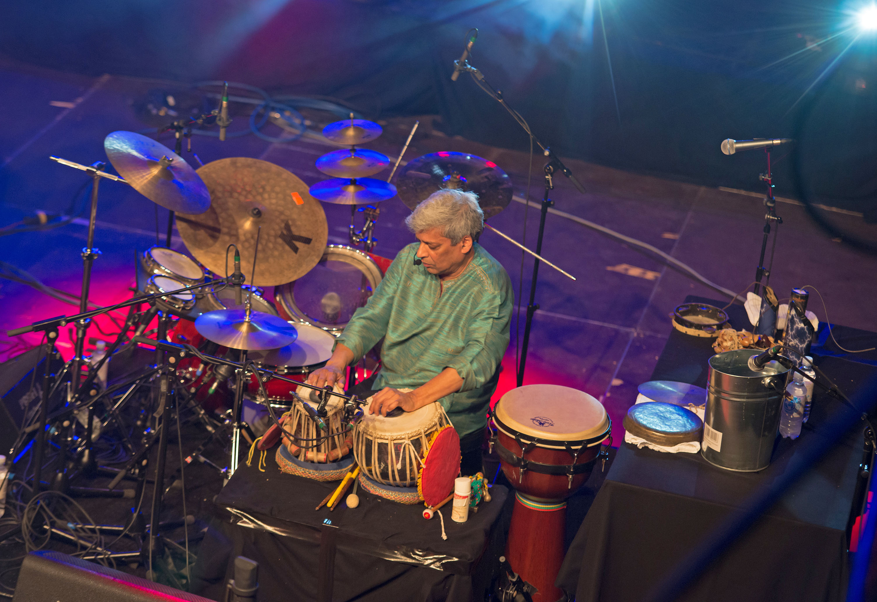Trilok gurtu group, 2013 elbjazz festival