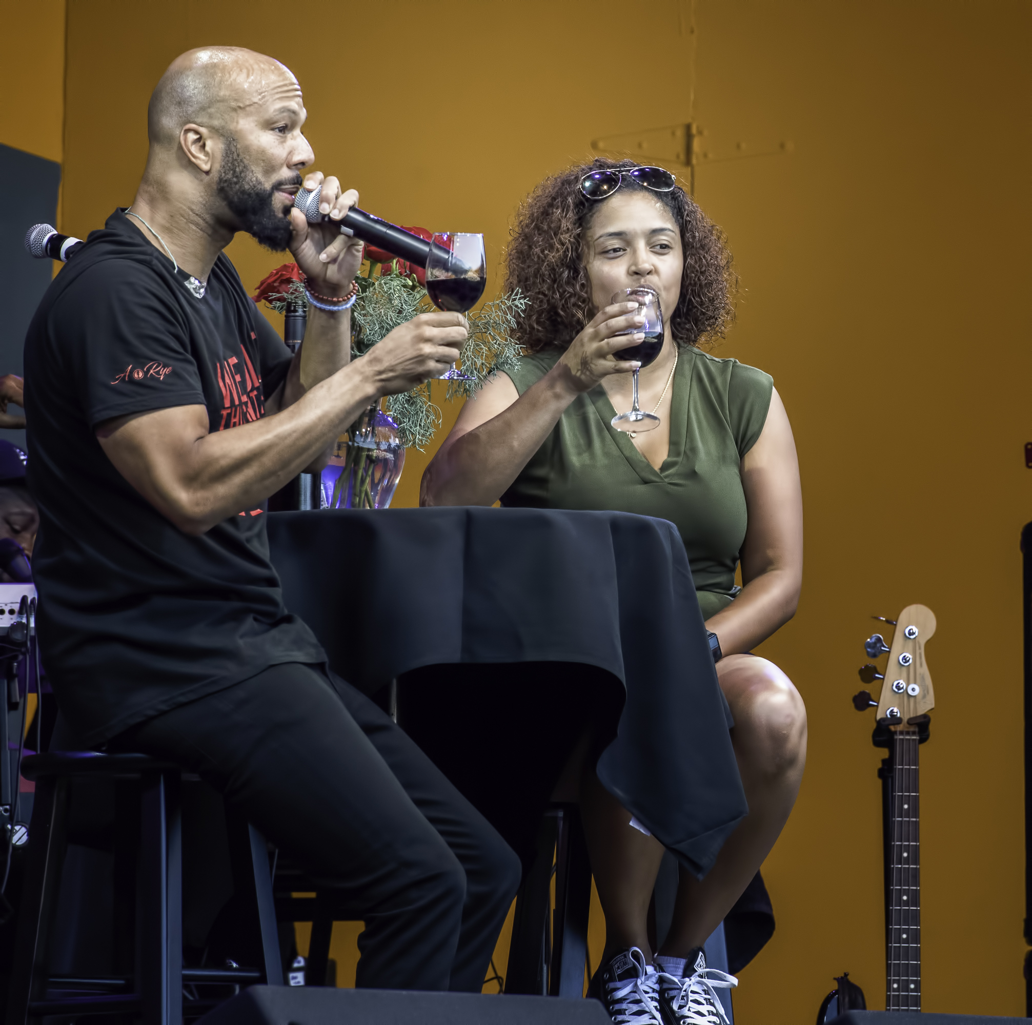 Common at the Monterey jazz Festival