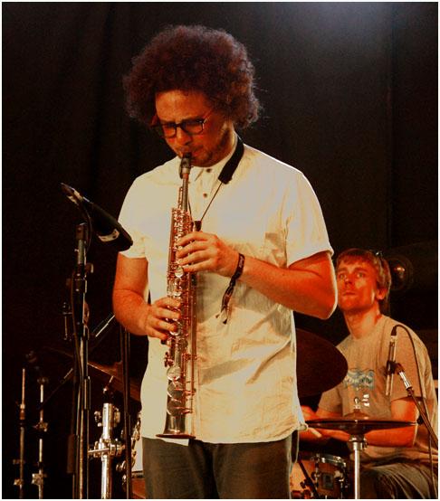 Adam waldemann, kairos 4tet, love supreme jazz festival