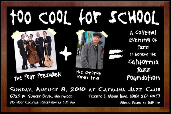 California Jazz Foundation Fundraiser