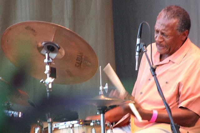 2006 Chicago Jazz Festival, Sunday: Robert Shy with the Willie Pickens Quintet
