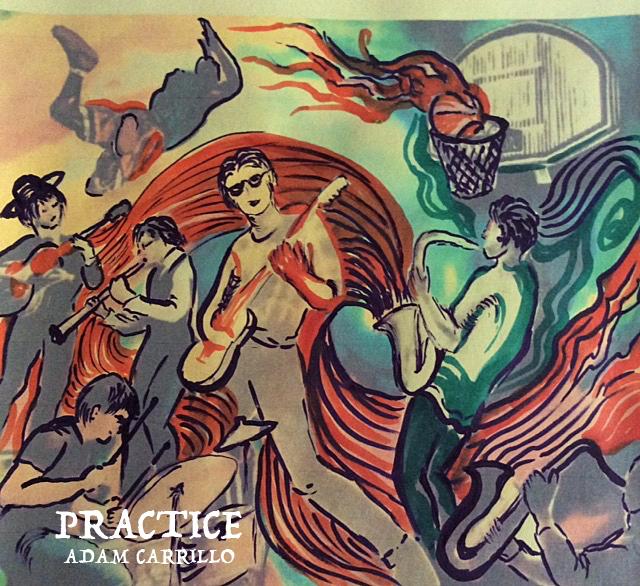 "Debut CD ""Practice"""