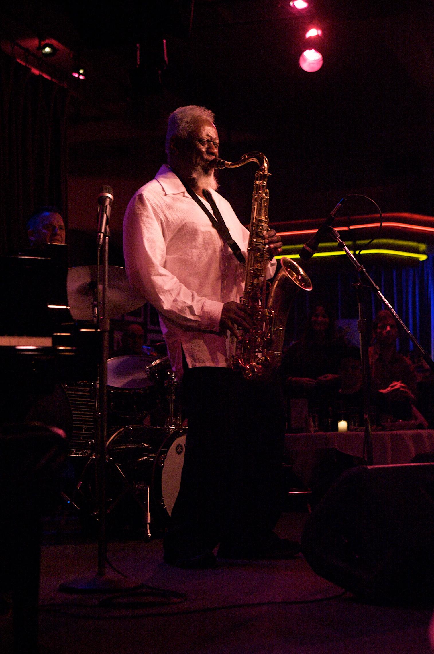 Pharoah Sanders Quartet at Birdland, NYC 3/20/12