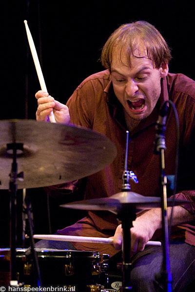 Ari Hoenig Playing with Joris Roelofs Quartet