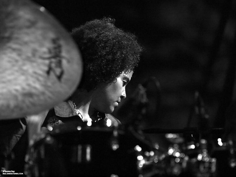 Terri Lyne Carrington's, Performing at Jazz Festival Zadymka Jazzowa, Bielsko-Biala, Poland. 2013