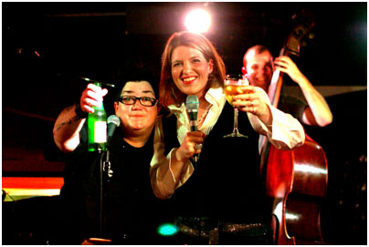 Lea Delaria, Clare Teal 21242 Pizza Express, Dean Street, London Oct. 2007 Images of Jazz