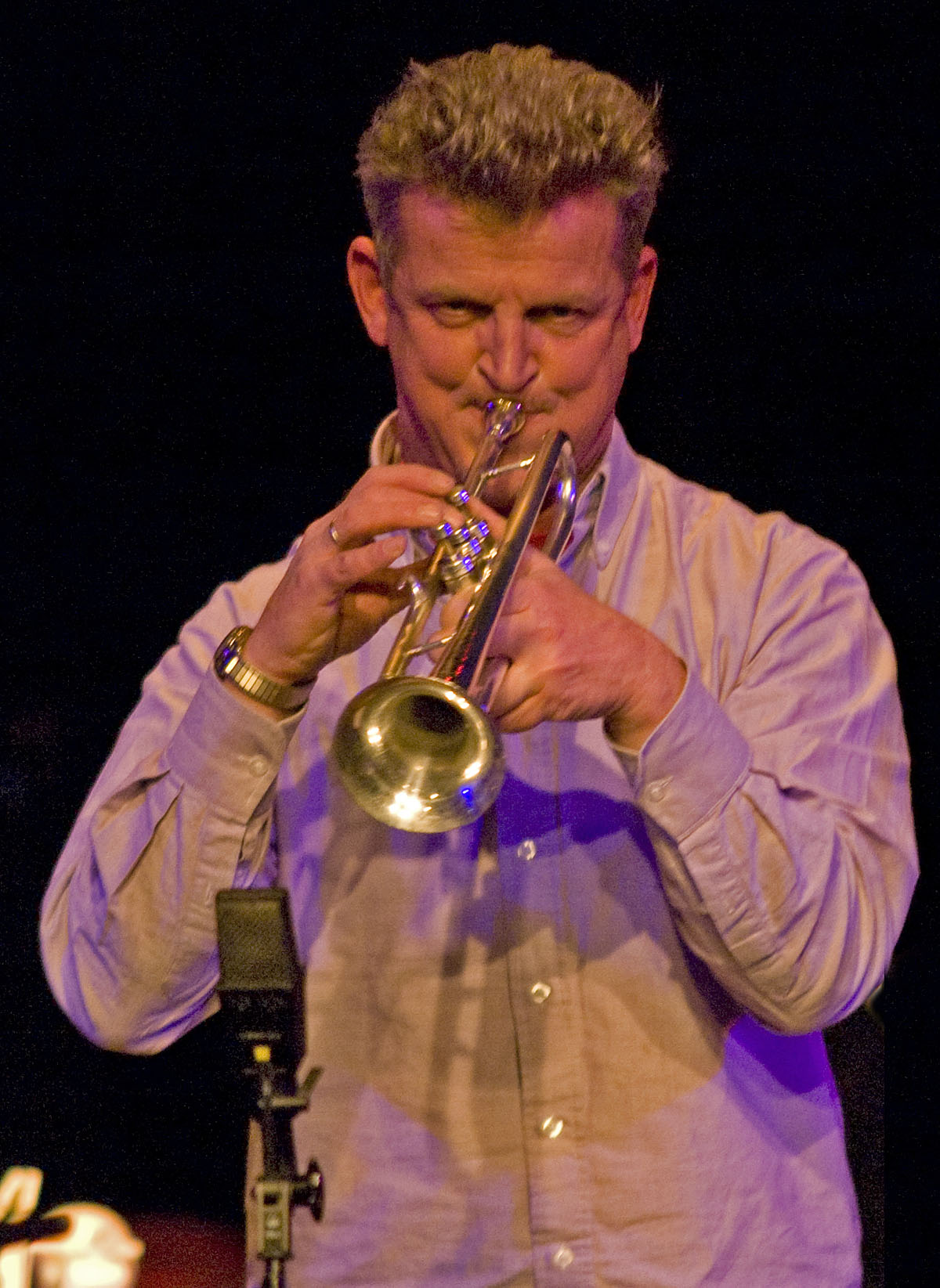 Eric Boeren at Doek Festival, Amsterdam December 4, 2010