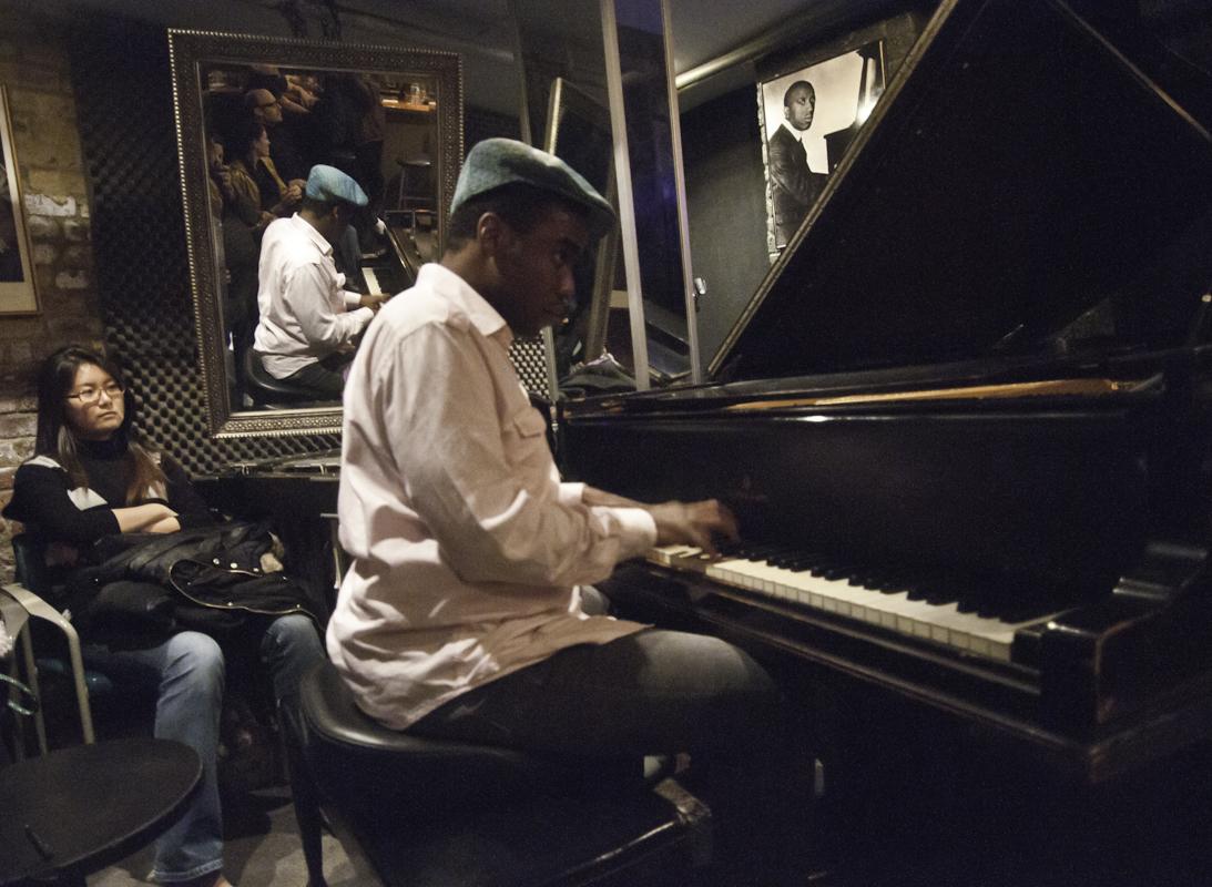 David Bryant with Abraham Burton/Eric McPherson Quartett