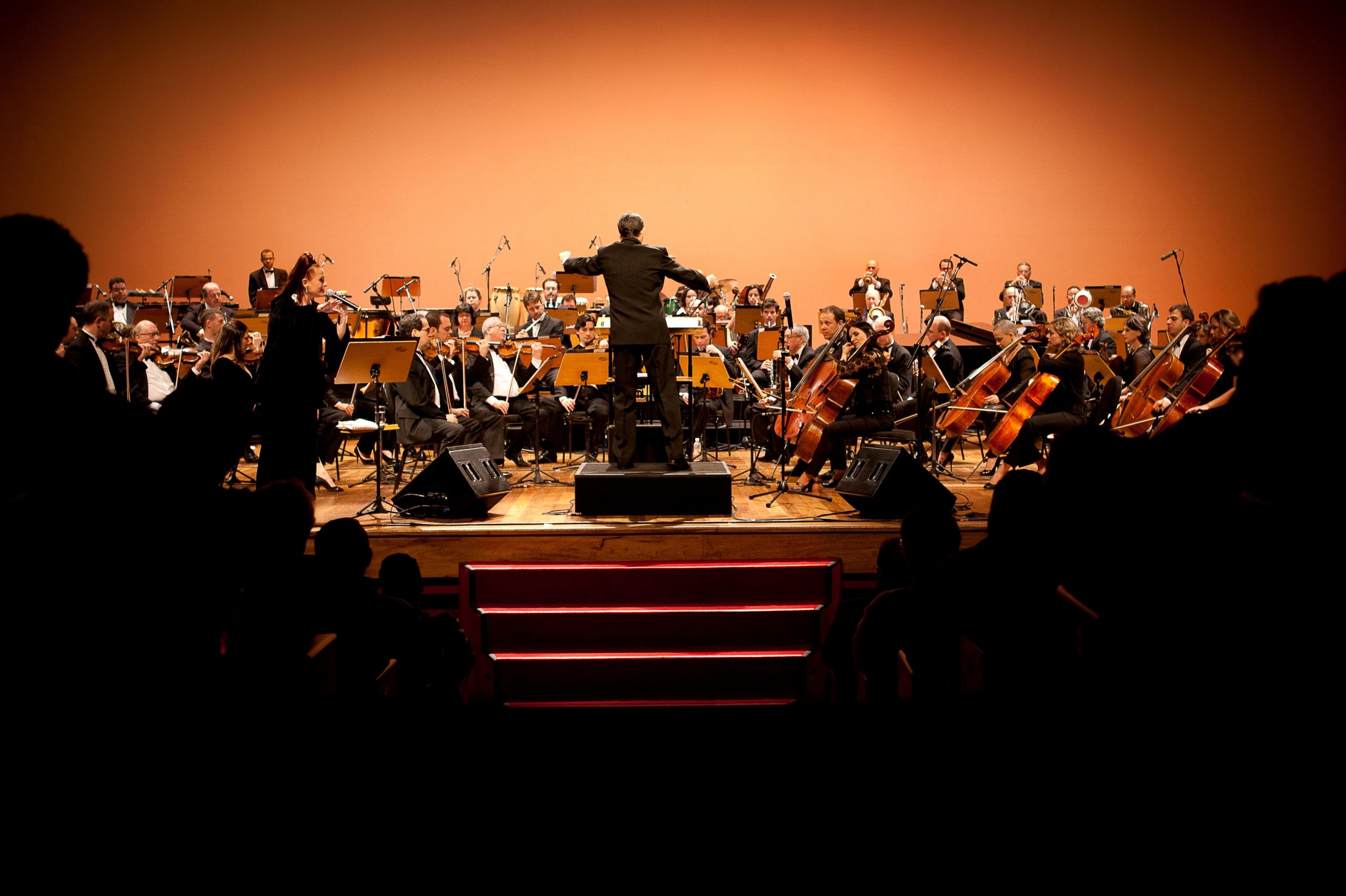 "Ithamara Koorax at ""Bim Bom - Symphonic Joao Gilberto"" in Sao Paulo"