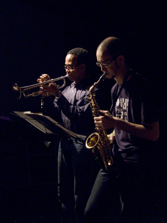 Steve Lehman and Jonathan Finlayson - The Stone 2007