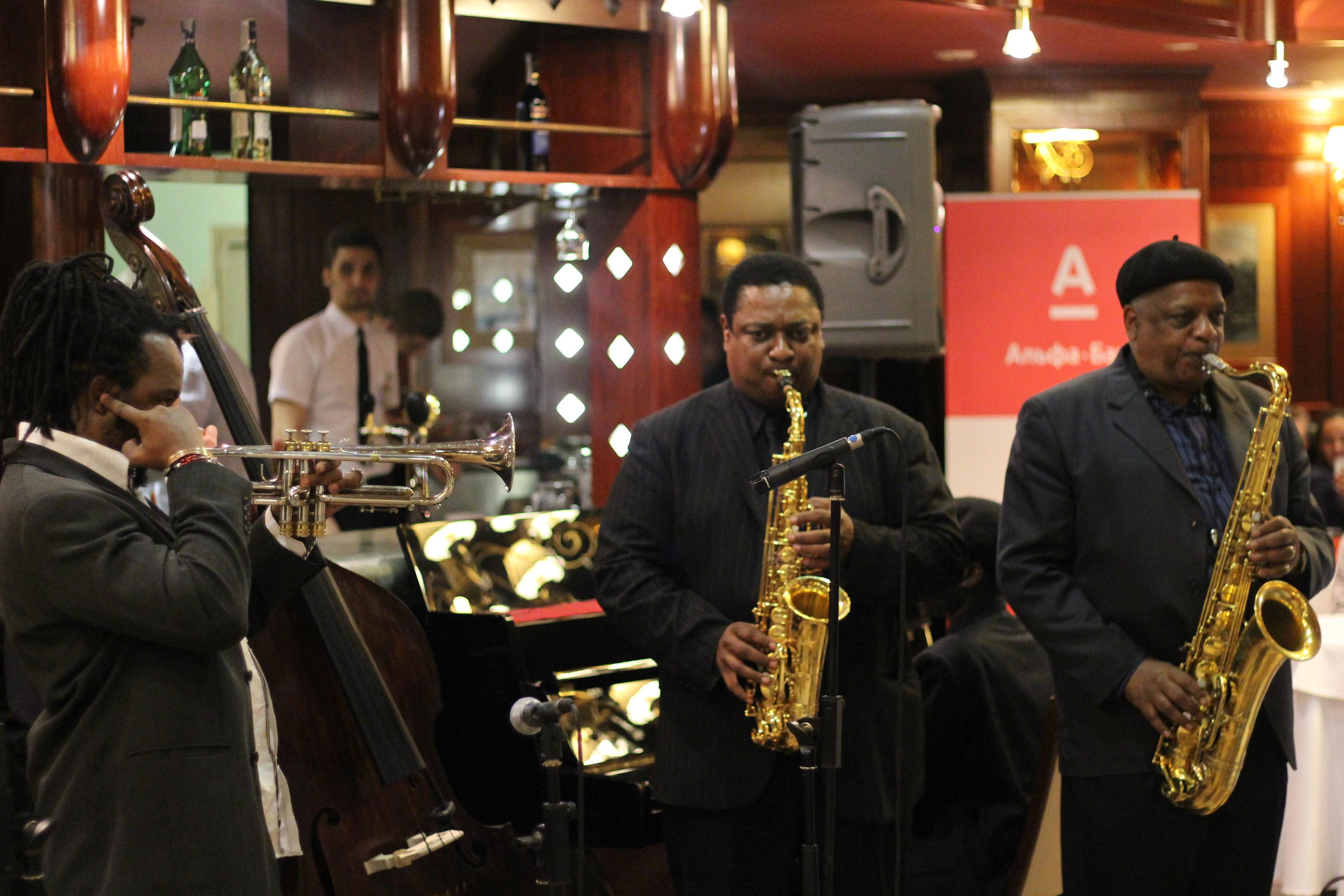 Jam session at 2013 minsk jazz festival