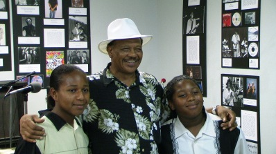 Matthew Robinson and the Peterson Brothers at the Texas Museum