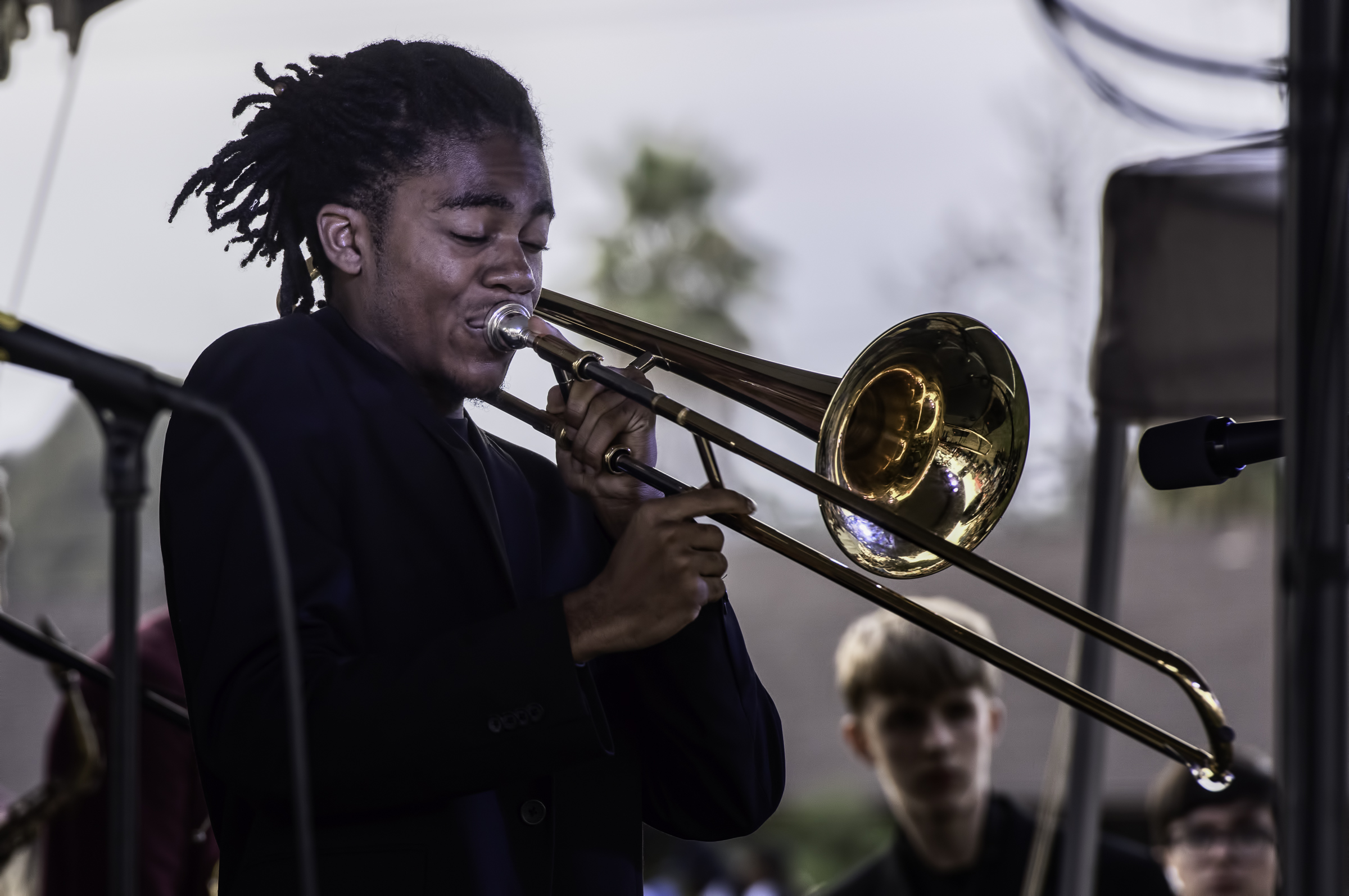 Rashaan Salaam with the Next Generation Jazz Orchestra at the Monterey Jazz Festival