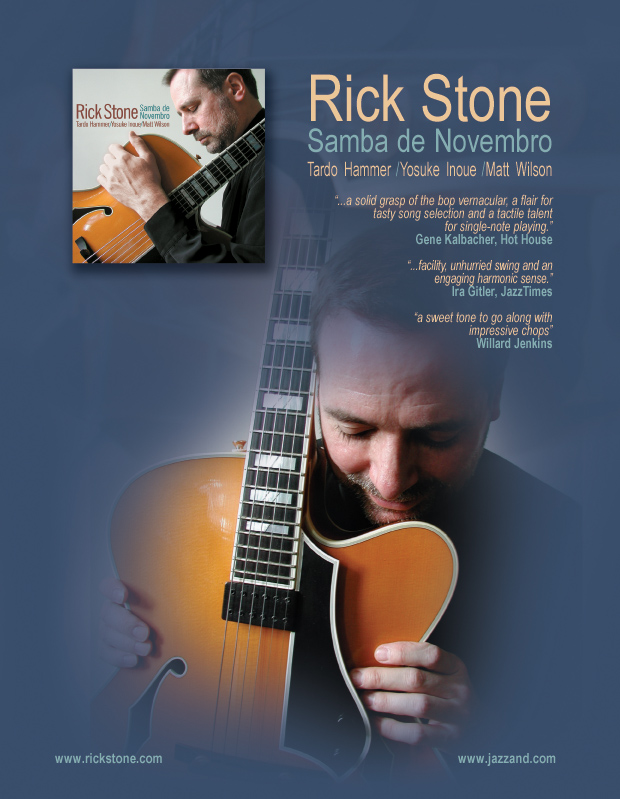 Rick Stone: Samba de Novembro One-Sheet Front