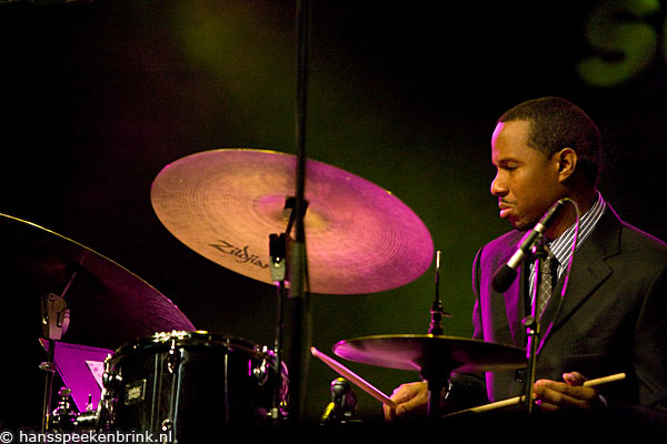 Willy Jones III Playing with Hank Jones at North Sea Jazz