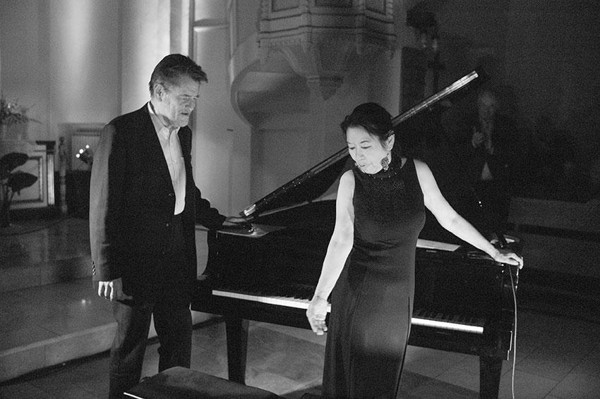 Aki Takase with Alexander Von Schlippenbach