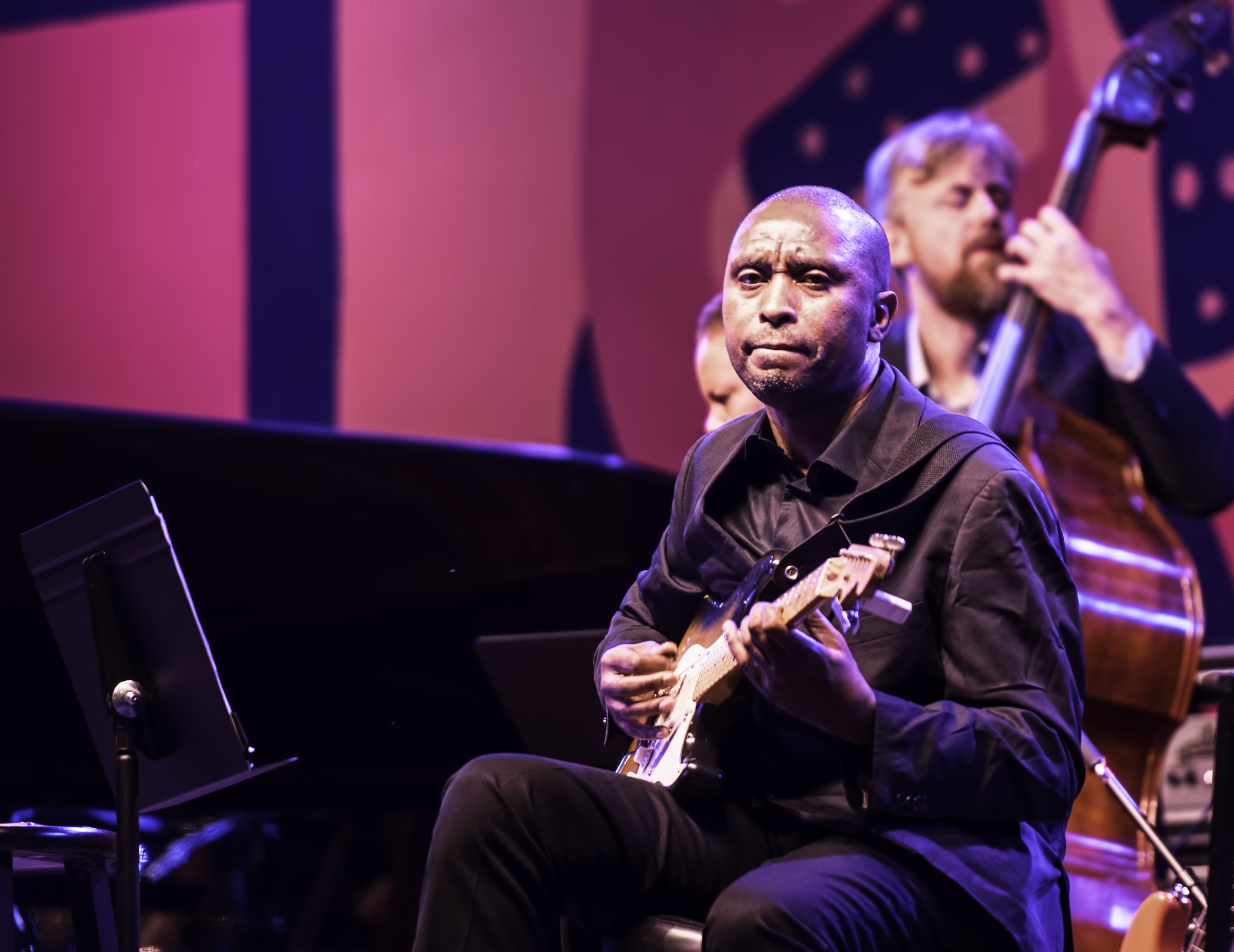 Marvin Sewell with Regina Carter's Simply Ella at the Monterey Jazz Festival