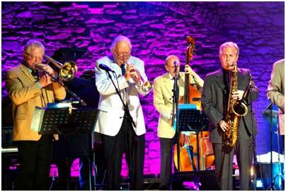 Humphrey Lyttleton, Scott Hamilton 20687 Images of Jazz