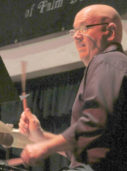 John Yarling with Shelly Berg Trio at Harriet Himmel Theatre, West Palm Beach, 2/28/12