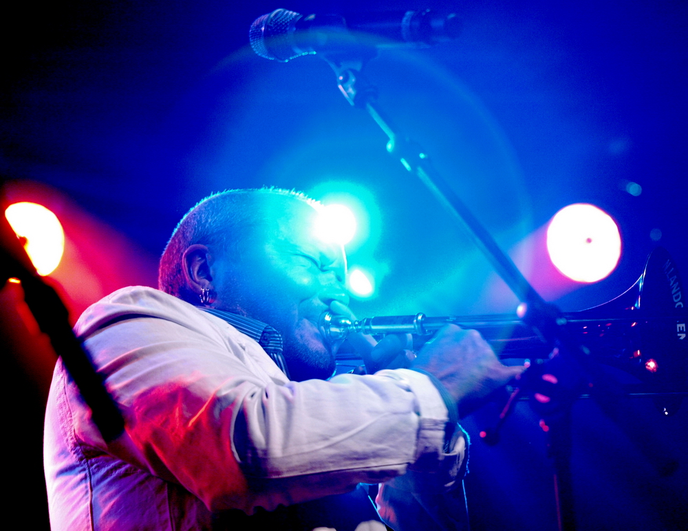 Nils Landgren, the Hague Jazz Festival 2010