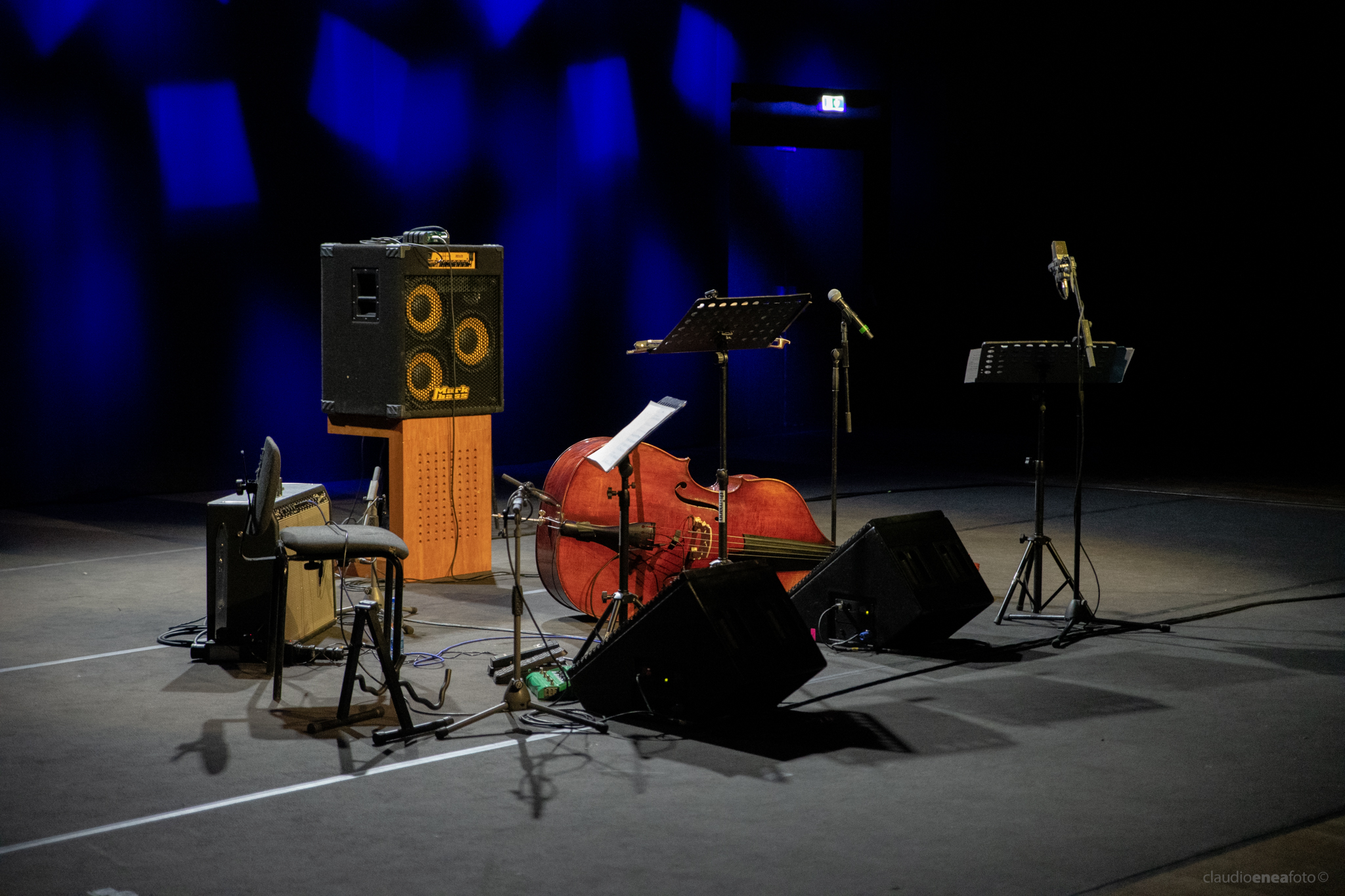 Michael Formanek's Very Pratical Trio - Auditorium Parco della Musica Roma 22.01.2019