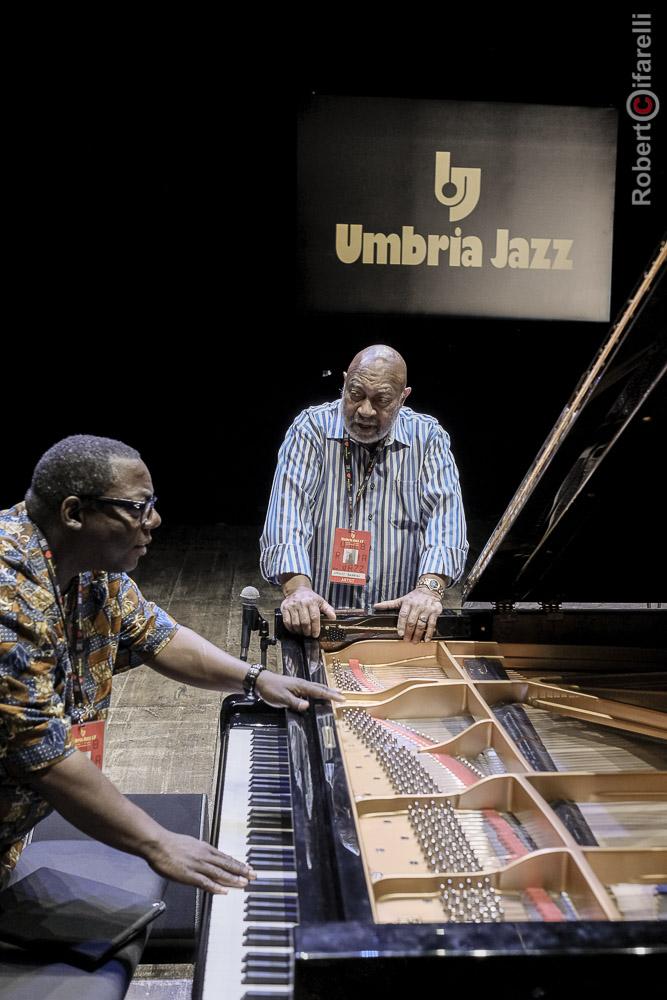Cyrus Chestnut, Kenny Barron, Umbria Jazz 2017