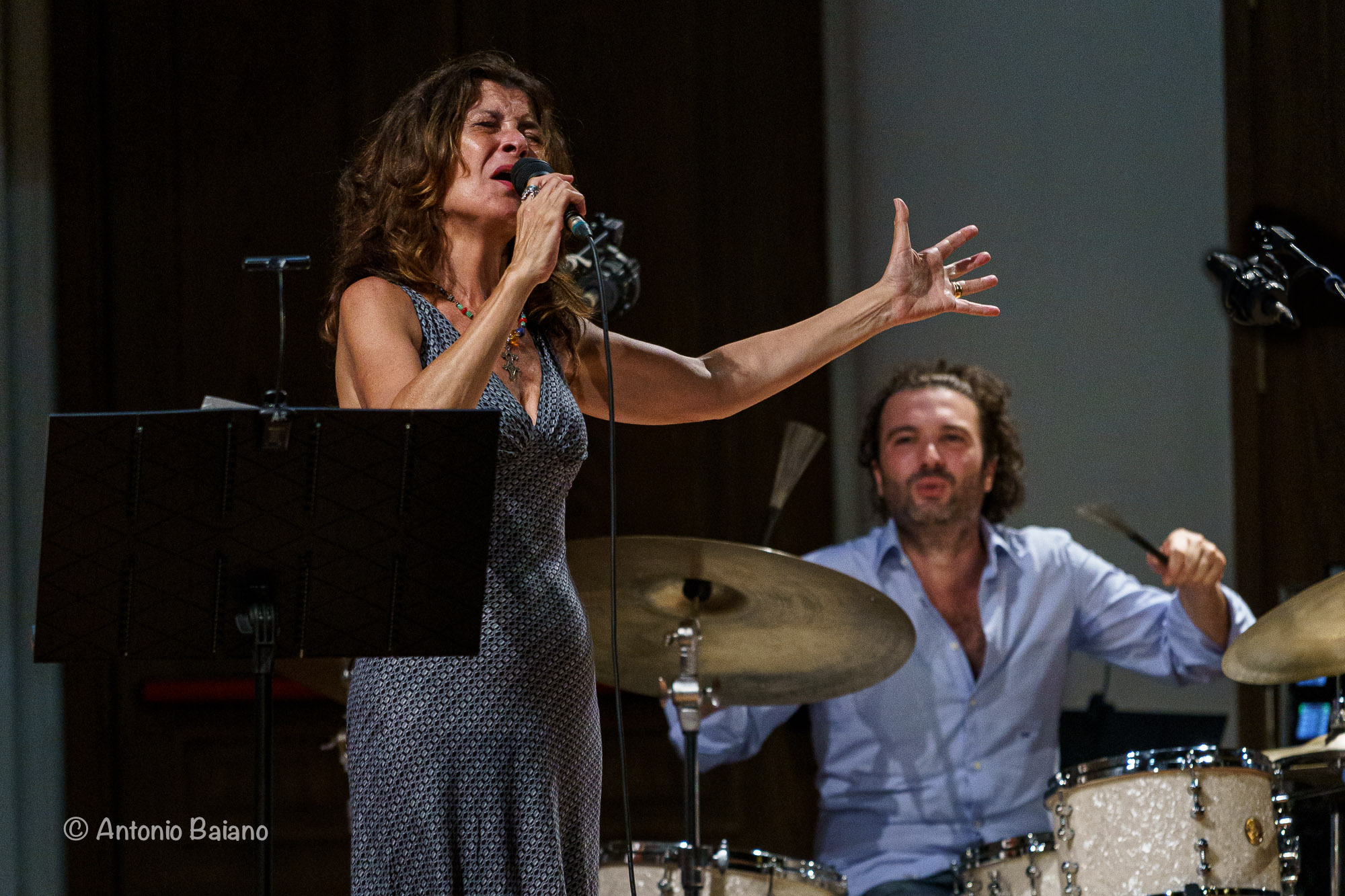 Maria Pia De Vito and Alessandro Paternesi