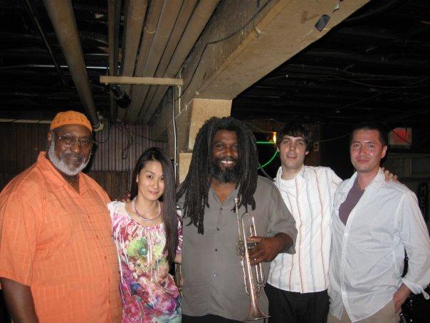 James Polk, Masumi Jones, Jeff Lofton, Russell Haight, and Chris Jones