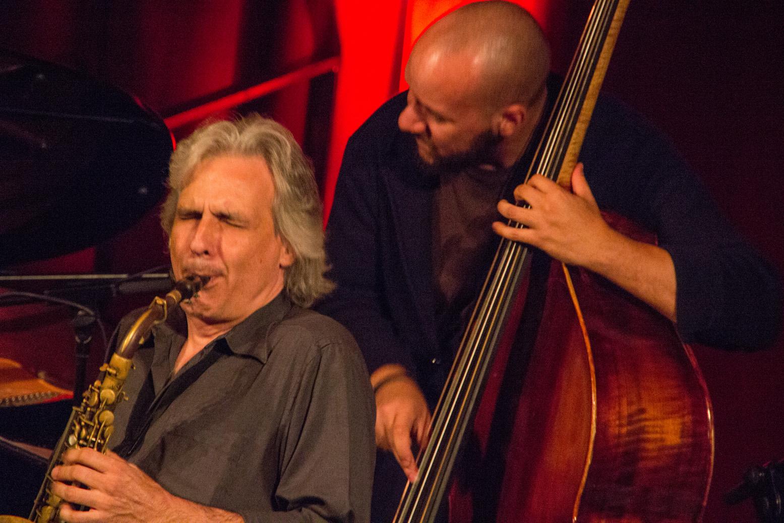 Perico sambeat and alex davis at cork jazz festival
